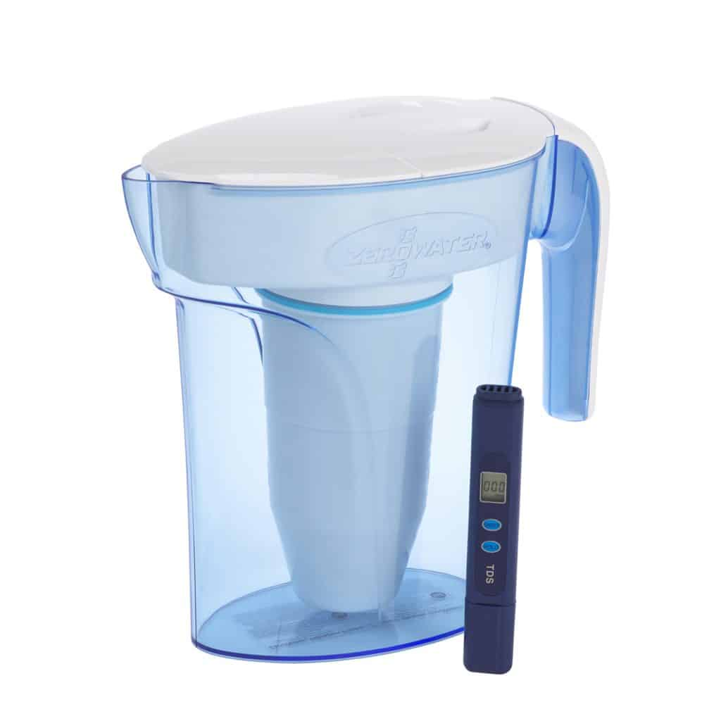 ZeroWater - 1.7 liter water filter jug with TDS meter