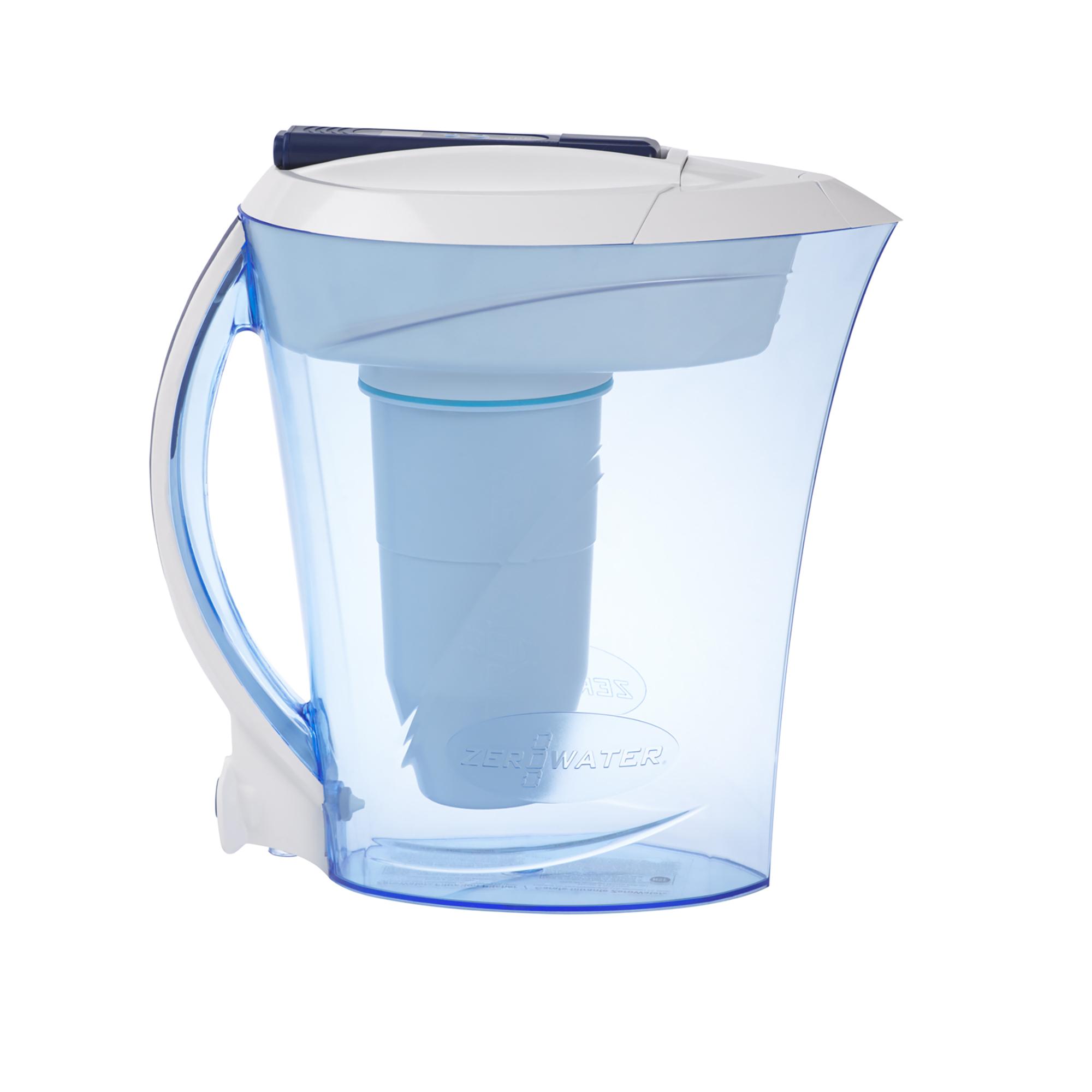 ZeroWater - 2 4-litre ZeroWater jug with TDS meter