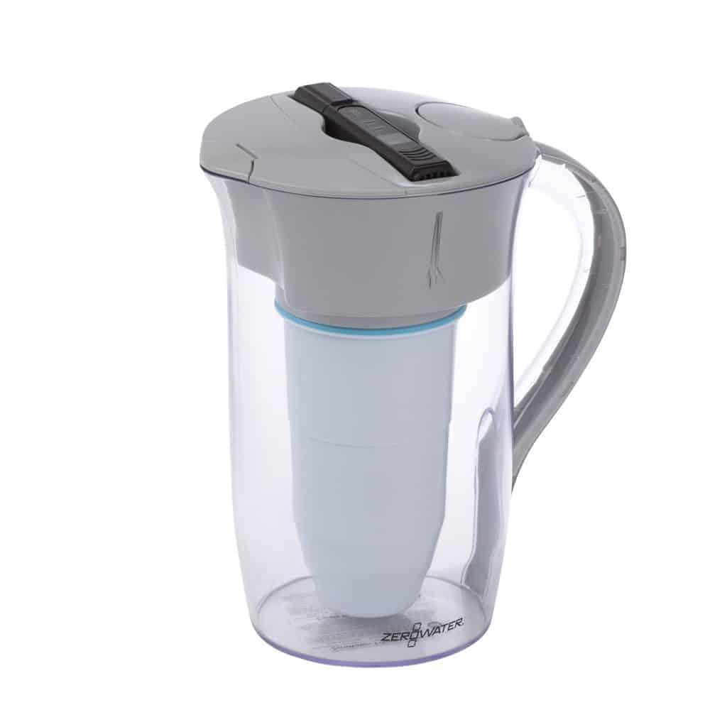 ZeroWater - 1,9 liter ronde waterkan met gratis filter en TDS Meter