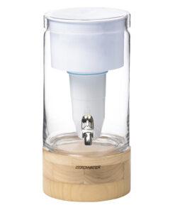 ZeroWater-5,4 Liter Filtersystem aus Glas mit kostenlosem Filter und TDS-Messgerät
