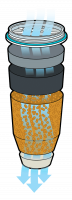5-phase water filter